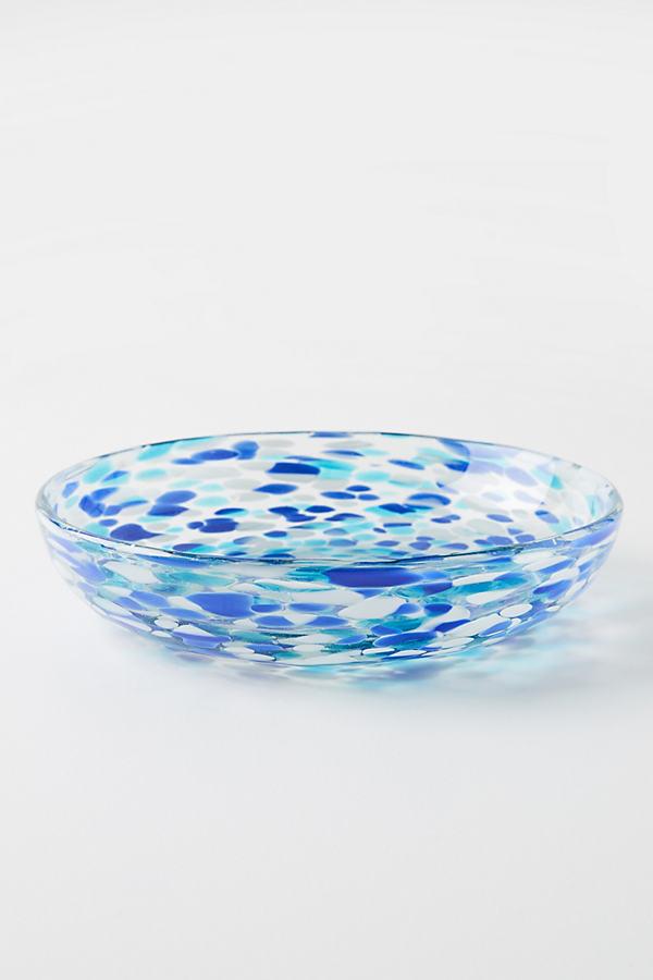 Set of 4 Jules Dinner Plates - Blue, Size S/4 Dinner