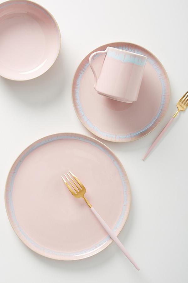 Nadia Dinner Plate - Pink, Size Dinner