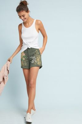 Shunan Printed Shorts by Hei Hei