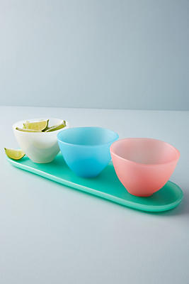 Slide View: 1: Croatian Sunrise Serving Bowl Set