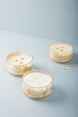 Slide View: 2: Candlefish Decaled Candle
