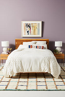 Slide View: 1: Embellished Neve Duvet Cover