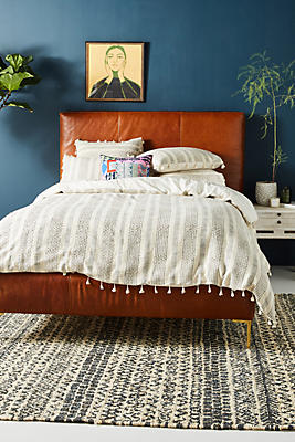 Slide View: 1: Woven Antibes Duvet Cover