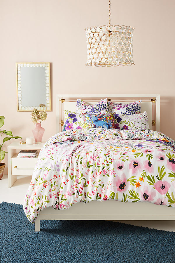 Posey Duvet Cover - Assorted, Size Q Top/bed