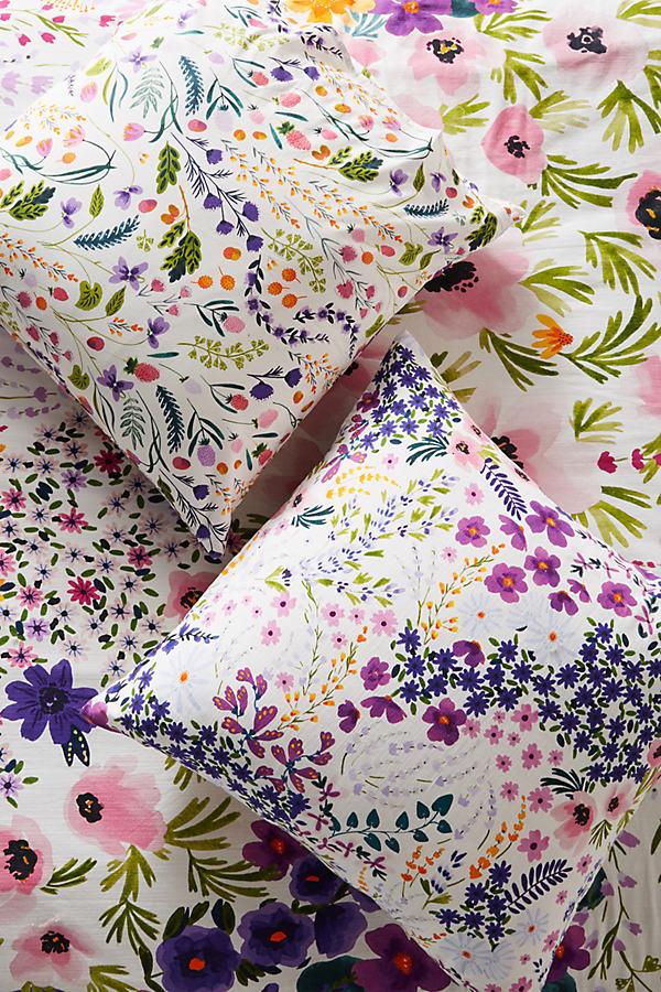 Posey Square Pillowcase - Assorted, Size Euro Sham