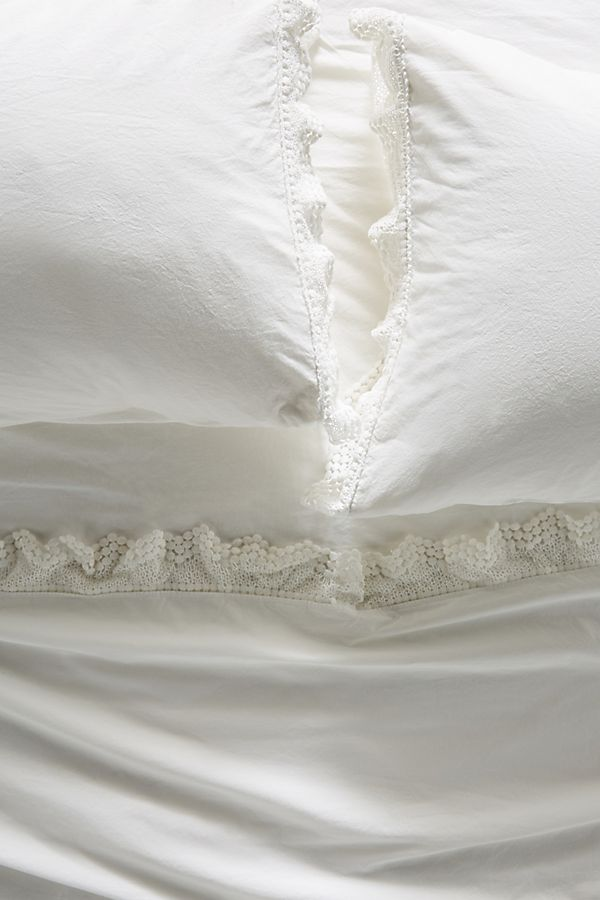 Slide View: 1: Embellished Chevron Sheet Set