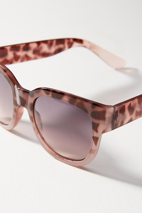 Alana Tortoise Sunglasses - Pink