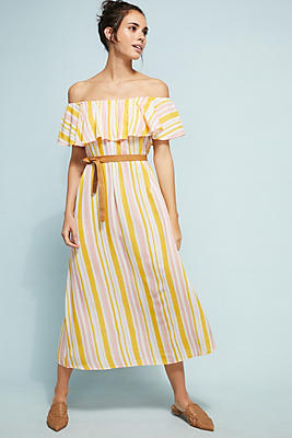 Slide View: 2: Eberjey Florence Striped Dress