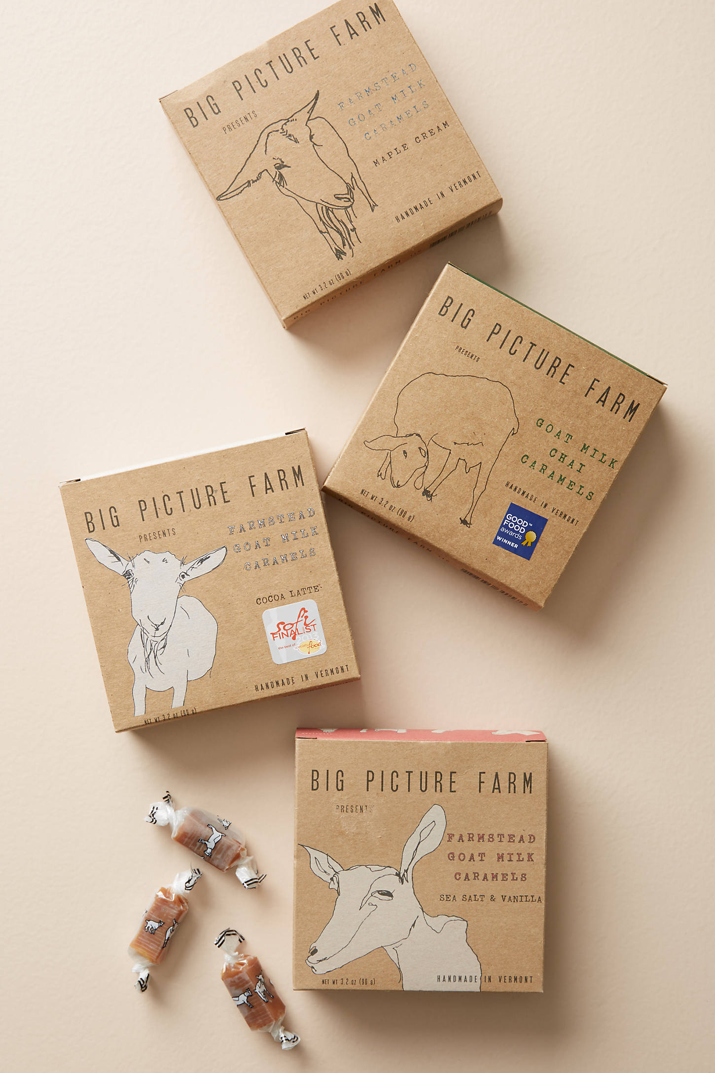 Big Picture Farm Goat Milk Caramel Box Gift Set