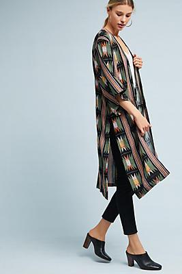 Slide View: 1: Sage Kimono