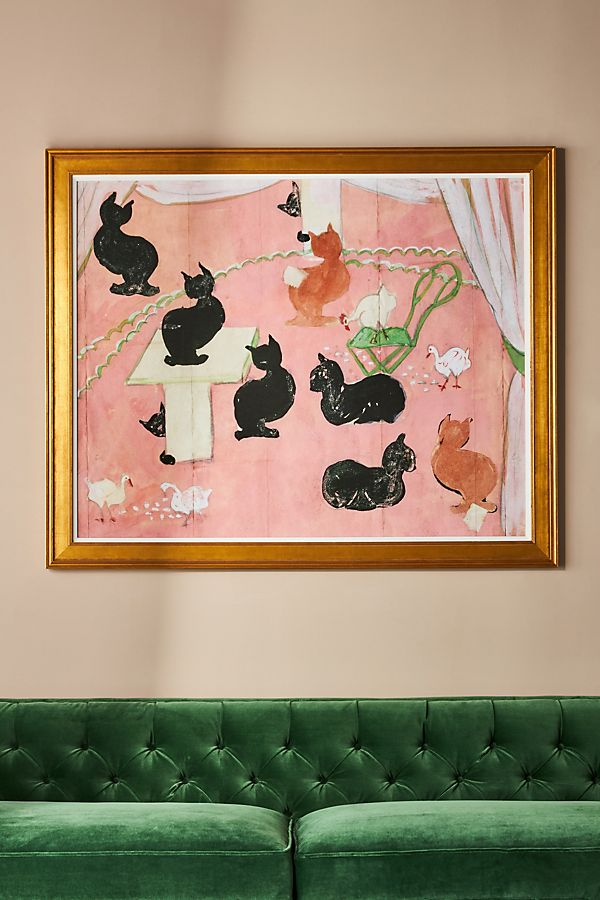 Slide View: 1: Cats Wall Art
