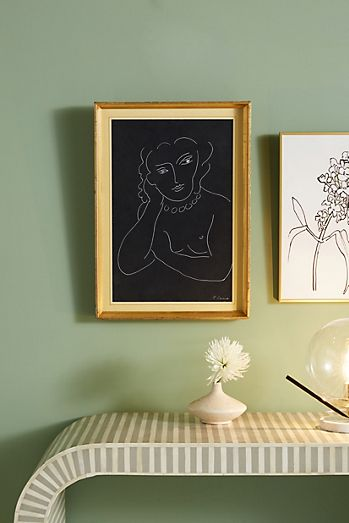Blue - Wall Decor | Wall Art & Wall Mirrors | Anthropologie