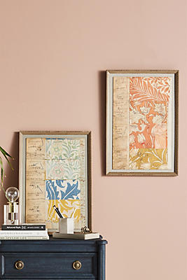 Slide View: 2: Archival William Morris Wall Art