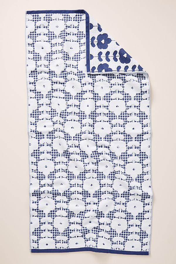 Reid Towel Collection - Blue, Size Hand Towel