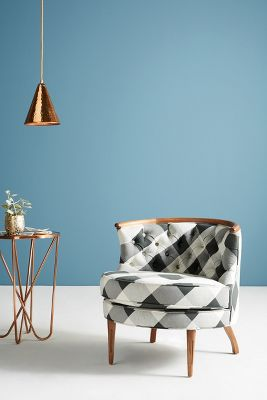 buffalo check bixby chair