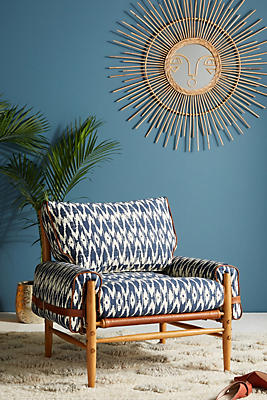 Slide View: 1: Ikat Rhys Chair