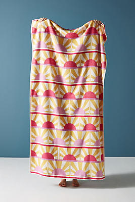 Slide View: 1: Sun Star Beach Towel