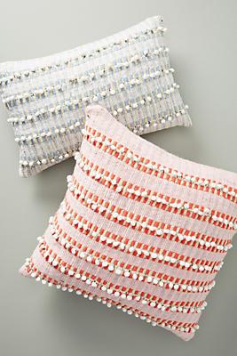 Slide View: 4: Raquelle Textured Stripe Pillow