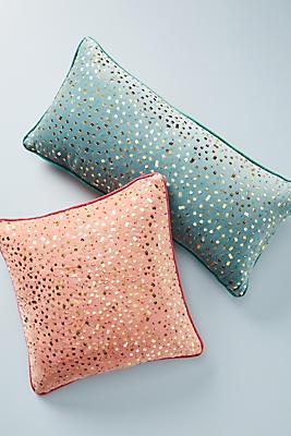 Slide View: 4: Confetti Velvet Pillow