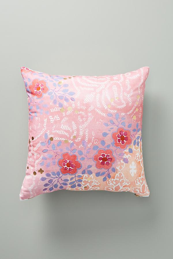 "Piper Cushion - Pink, Size 18"" Sq"