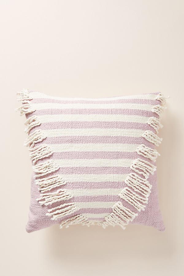 "Brooklyn Cushion - Purple, Size 18"" Sq"