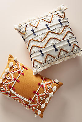 Slide View: 4: Vineet Bahl Embellished Pillow