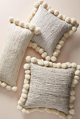 Slide View: 4: Pommed Jute Pillow