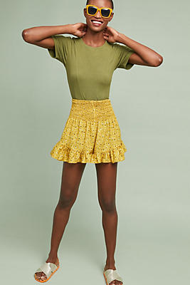 Slide View: 1: Corey Lynn Calter Smocked Floral Shorts