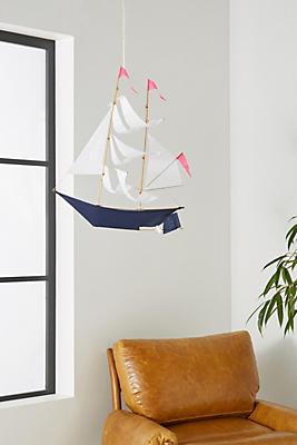 Slide View: 1: Sail Away Hanging Decor