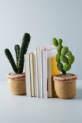 Slide View: 3: Succulent Bookend