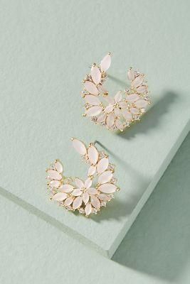 Serefina   Viola Post Earrings  -    ROSE