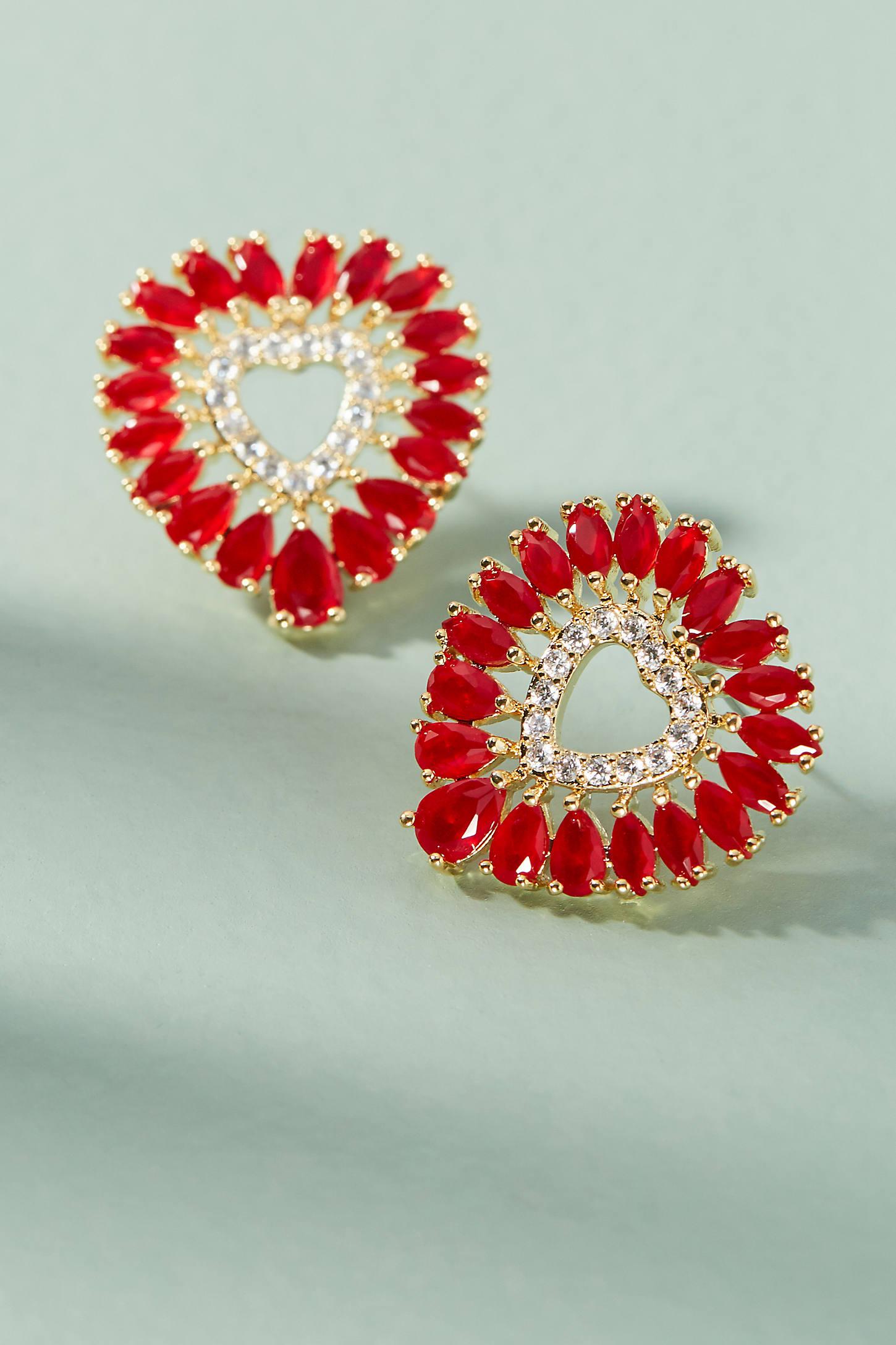 Take Heart Post Earrings