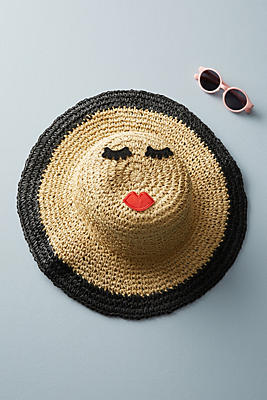 Slide View: 1: Kids Straw Hat