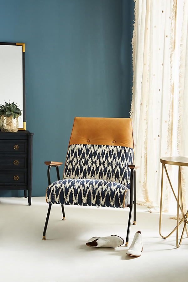 Slide View: 1: Ikat Quentin Chair
