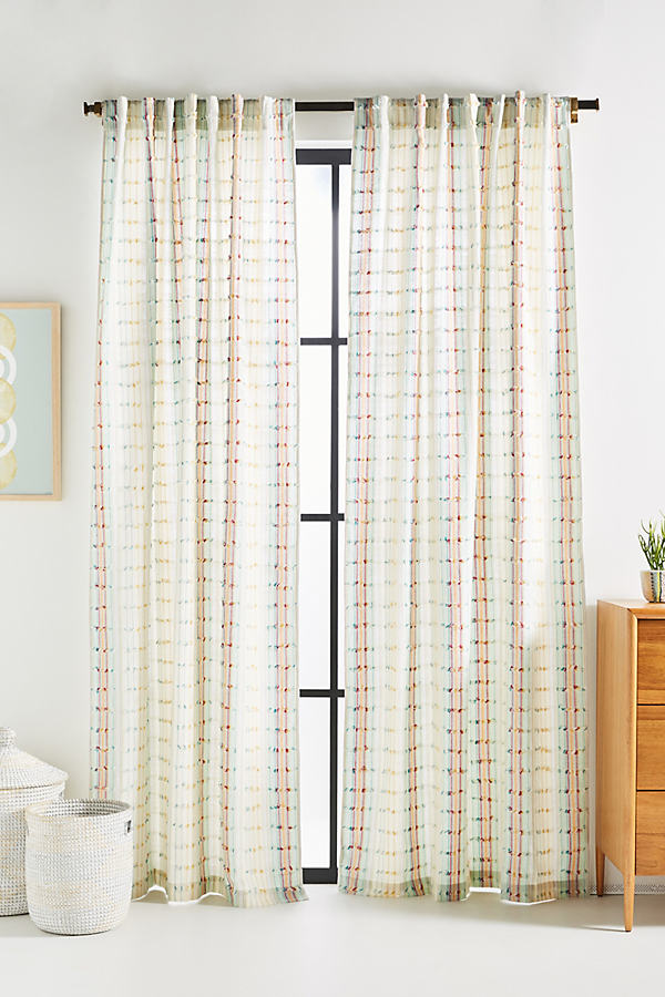 Sonia Curtain - Assorted, Size 50 X 84