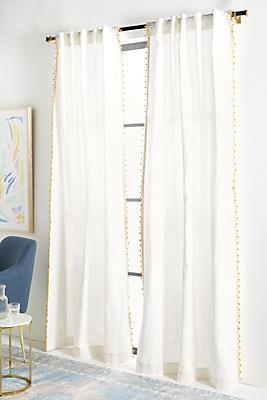 Slide View: 1: Pommed Regina Curtain