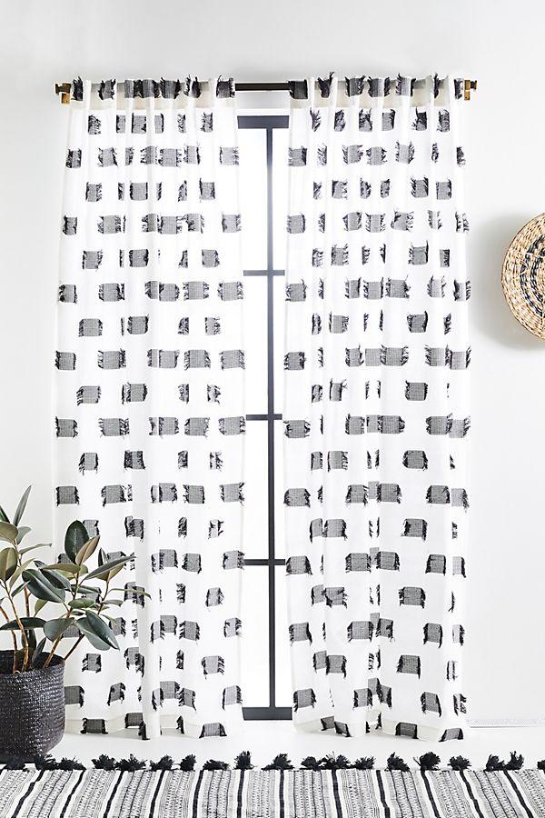 Slide View: 1: Textured Cira Curtain