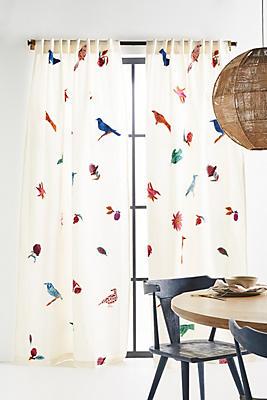Slide View: 1: Embellished Syara Curtain