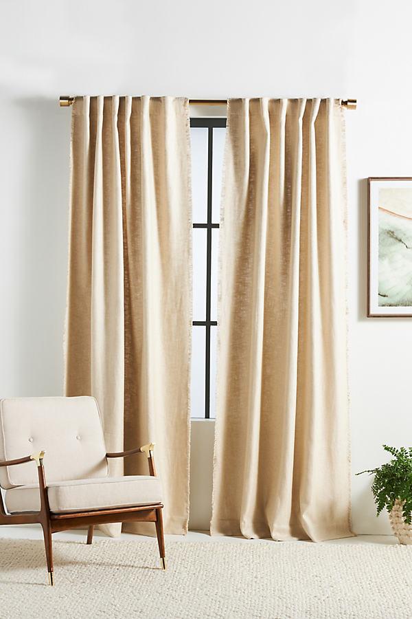 Luxe Linen Blend Curtain