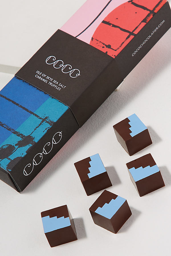 COCO The Art of Chocolate Five Truffle Collection
