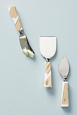 Slide View: 1: Catbird Cheese Knife Set