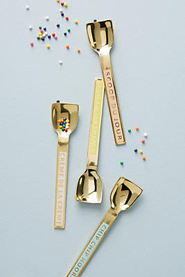 Slide View: 1: Sweet Treat Ice Cream Spoon Set