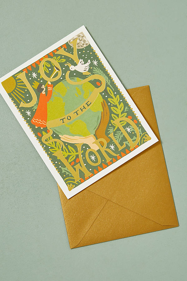 Warmest Wishes Snowglobe Card - Green