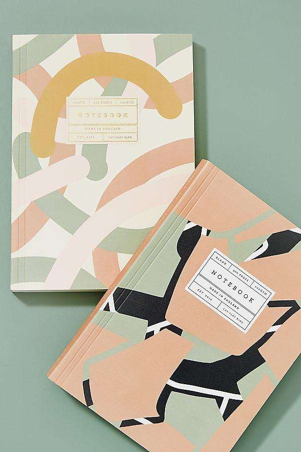 Textured Notebook - Peach