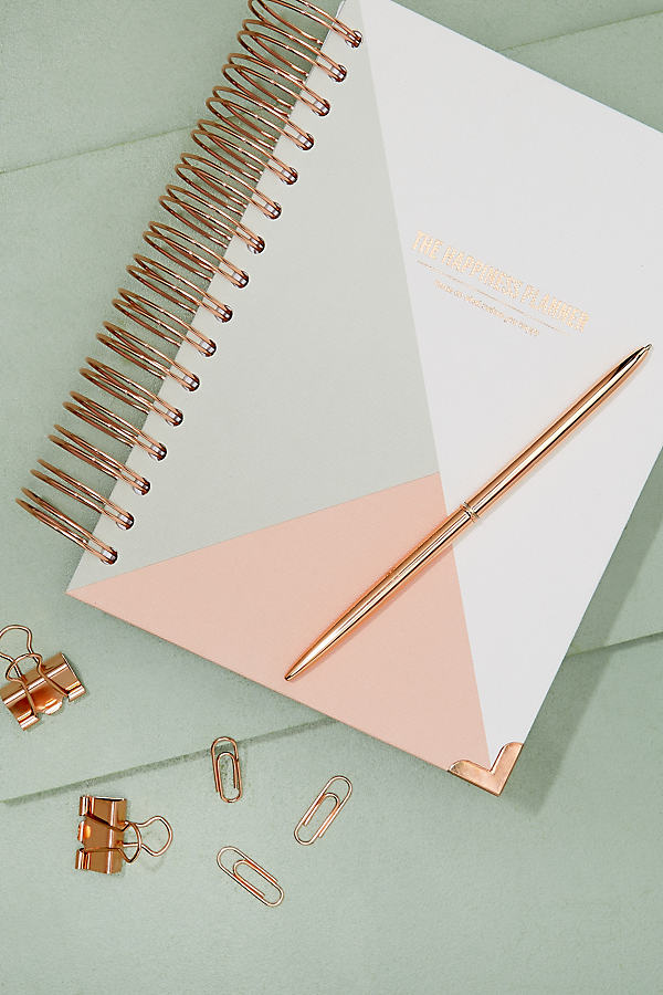 The Happiness Planner 2018 - White