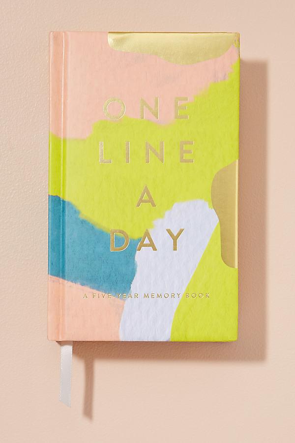 One Line A Day: Erinnerungsbuch für fünf Jahre ...