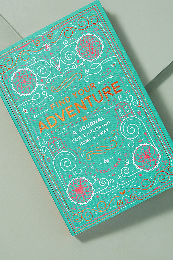 Find Your Adventure - Turquoise