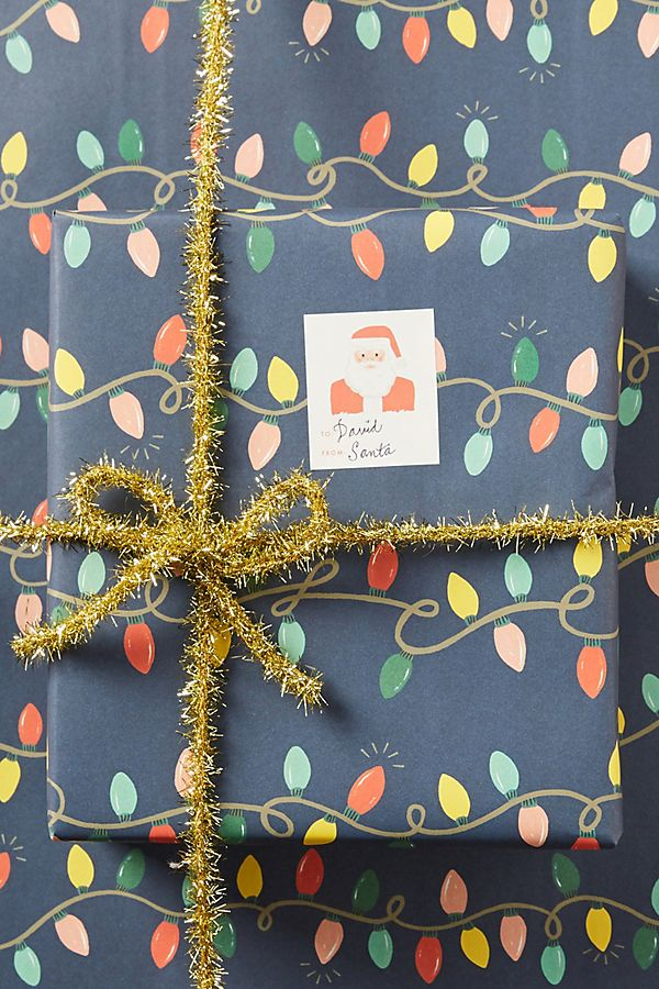 Rifle Paper Co. Holiday Wrapping Paper | Anthropologie