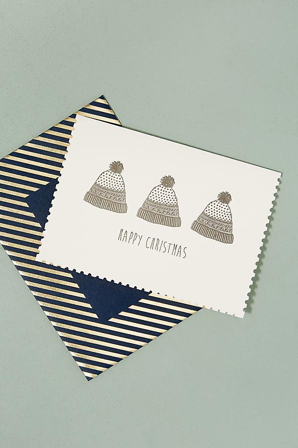 Foiled Christmas Jumper Card - Cream