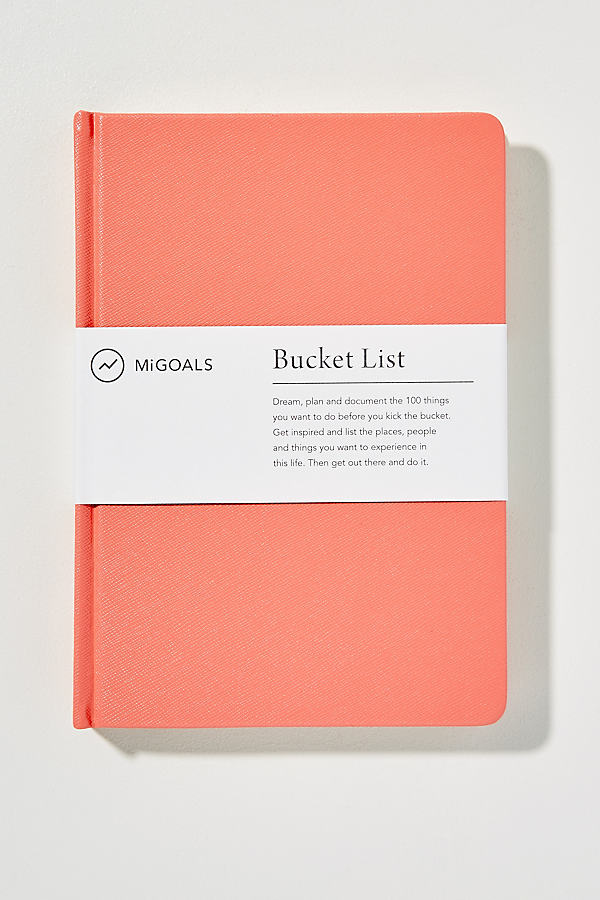Bucket List Journal - Tangerine